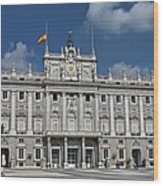 Royal Palace Of Madrid Wood Print