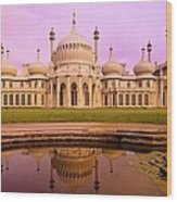 Royal Pavilion In Brighton England Wood Print