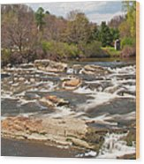 Royal River 0161 Wood Print