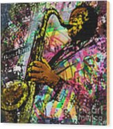 Royal Sonesta Jazz Playhouse Wood Print