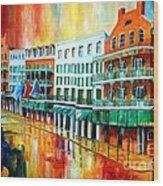 Royal Sonesta New Orleans Wood Print