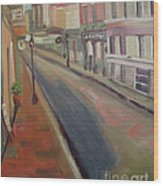Royal Steet I Wood Print by Lilibeth Andre
