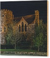 Roycroft Chapel Wood Print