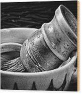 Roy's Shaving Mug I Wood Print