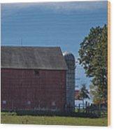 Rt 66 Barn Wood Print