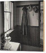 Rubber Coat Wood Print