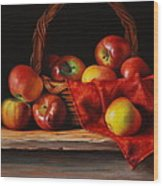 Rubens Apples Wood Print