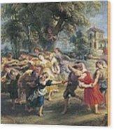 Rubens, Peter Paul 1577-1640. A Peasant Wood Print by Everett