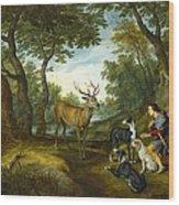 Rubens, Peter Paul 1577-1640 Breugel Wood Print