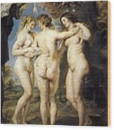 Rubens, Peter Paul 1577-1640. The Three Wood Print by Everett