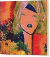 Rubie Wood Print