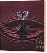 Rubies And Diamonds Wood Print by Susan Candelario