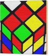 Rubik's Phone Wood Print