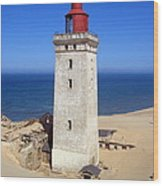 Rubjerg Knude Lighthouse 2 Wood Print