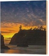 Ruby Beach Olympic National Park Wood Print