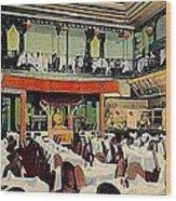 Ruby Foo Den Chinese Restaurant In New York City Wood Print