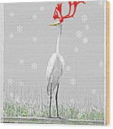 Rudolph Wood Print