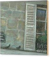 Rue Cler Wood Print