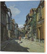 Rue De La Bavole Wood Print