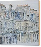 Rue Du Rivoli Paris Wood Print