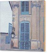 Rue Espariat Aix-en-provence Wood Print