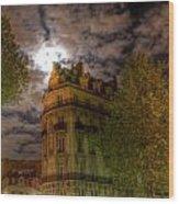 Rue George V Wood Print