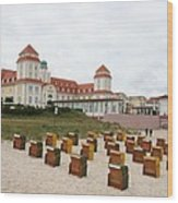Ruegen Island Beach - Germany Wood Print