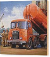 Rugby Cement Thornycroft. Wood Print