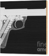 Ruger 22 45 Reverse Wood Print