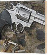 Ruger Security Six Stainless Wood Print