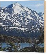 Rugged Alaska Wood Print