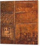 Rugged Cross Wood Print