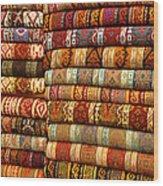Rugs Kilims Carpets Grand Bazaar Istanbul Turkey Wood Print