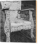 Ruined Childhood Wood Print