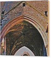 Ruined Church Ireland Wood Print