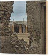 Ruins Of Al Hamra Wood Print