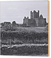 Ruins Of Irish Abbey Wood Print
