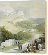 Ruins Of The Church Of St. John Sabaste 1839 Wood Print
