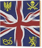 Rule Britannia Wood Print