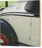 1934 Bruster Rumble Seat Access Wood Print