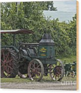 Rumely Mom And Son Wood Print
