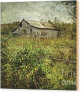 Run Down Barn Wood Print
