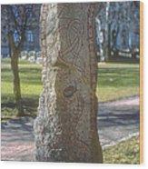 Runestone Wood Print
