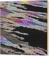 Runnoff Rainbows Wood Print