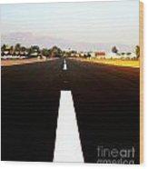 Runway Wood Print