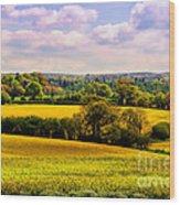Rural England Wood Print
