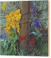Rural Spring Wood Print