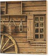 Rural Wertern Wood Print