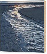 Rush To The Sun Wood Print