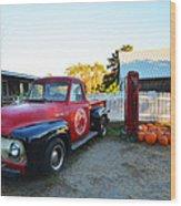 Russel Farms 1951 Ford F100 Wood Print